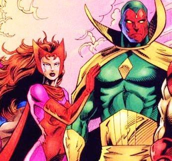 Scarlet Witch and Vistion